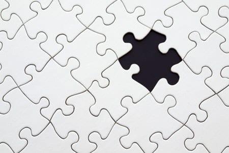 Missing puzzle piece gap analysis