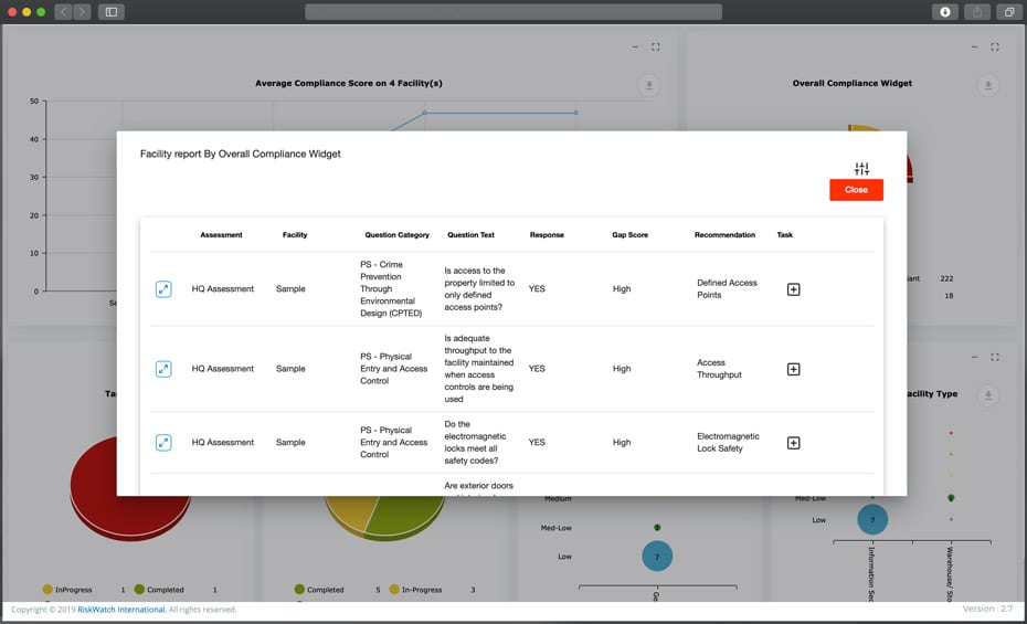 ComplianceWatch compliance widget