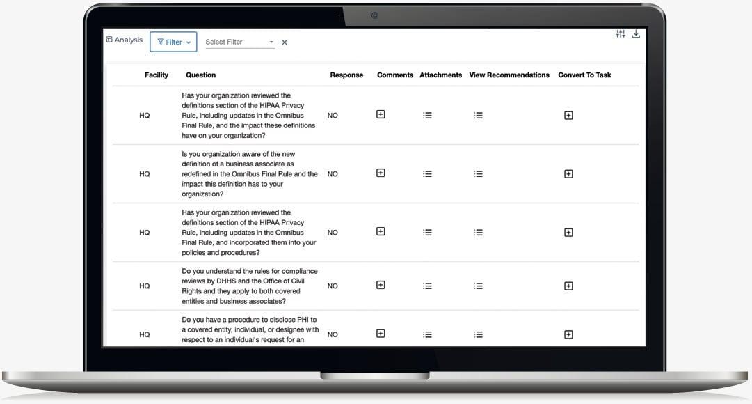 A Compliance Assessment and Management Platform.