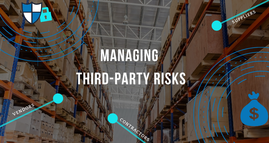 Third-party risks banner