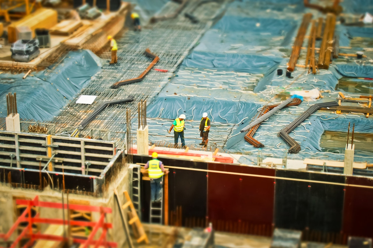 risks in a construction site